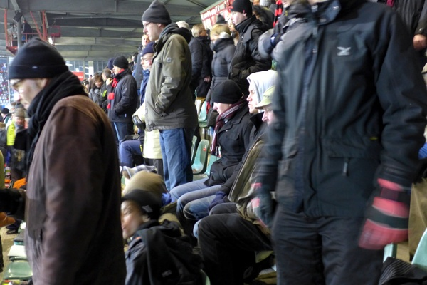 kalt: Mützen sind Trumpf