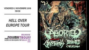 2018 11 02 Benighted e1545036703143 - Photos: 2018-11-02 Aborted, Cryptopsy, Benighted, Cytotoxin