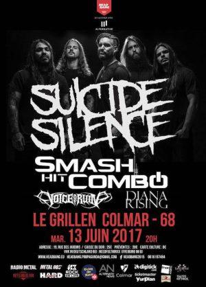 2017 06 13 SuicideSilence e1545035302978 - Photos: 2017-06-13 Suicide Silence, Smash Hit Combo, Voice Of Ruin, Diana Rising