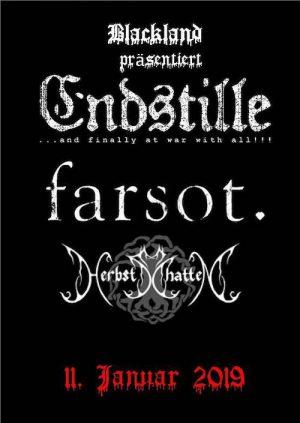2019 01 11 Endstille e1545036189142 - Photos: 2019-01-11 Endstille, Farsot, Herbschatten, Echoes of Agony