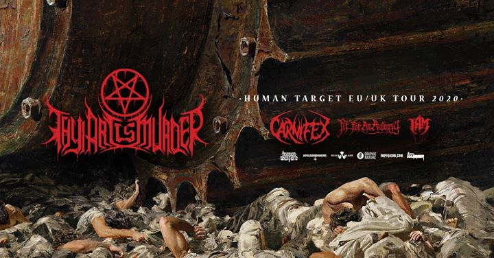 Thy Art is Murder - Z7 Pratteln