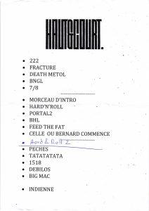 HautCourt 20190401 212x300 - Blog: Setlists