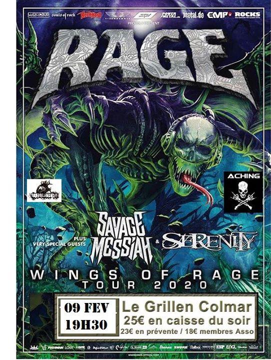 RAGE Serenity Savage Messiah