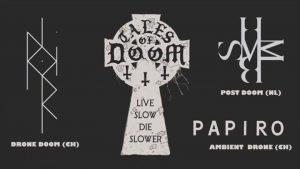 Konzert: 2019-12-28 Tales of Doom: Hemelbestormer, P.Noir, Papiro / Hirscheneck 1