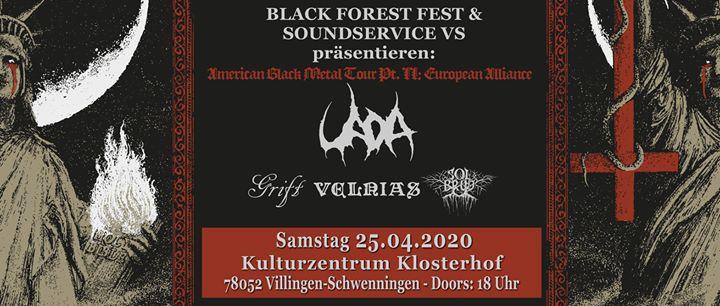 UADA I Grift I Solbrud I Velnias LIVE in Villingen-Schwenningen