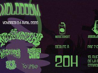 23607 image 89699741 531441424177929 8408775061888040960 n 326x245 - Konzert: 2020-04-24 Molodoom avec The Necromancers, Witchfinder, Wormsand / Molodo