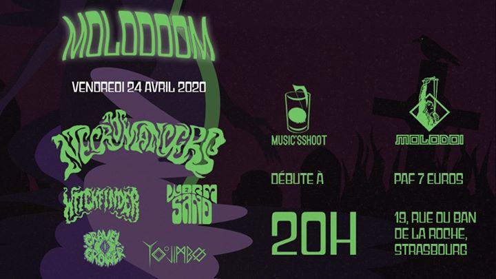 23607 image 89699741 531441424177929 8408775061888040960 n - Konzert: 2020-04-24 Molodoom avec The Necromancers, Witchfinder, Wormsand / Molodo