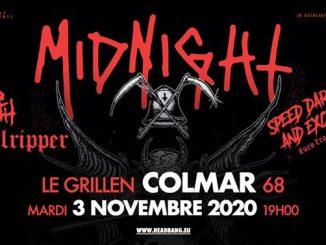 Midnight • Red Death • Hellripper • Le Grillen • Colmar