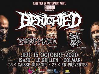 Benighted - Post Mortem - Spit Your Hate // Le Grillen Colmar