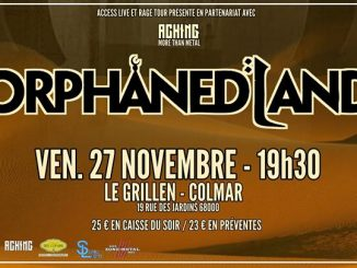 Orphaned Land - Le Grillen Colmar