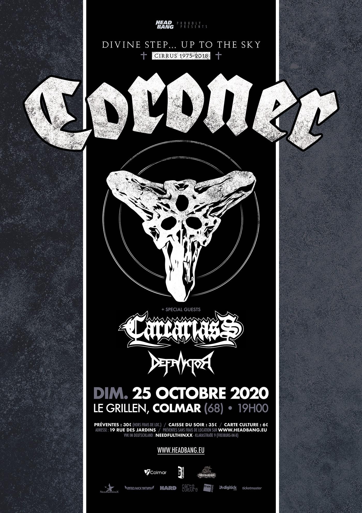 Coroner, Carcariass, Defraktor