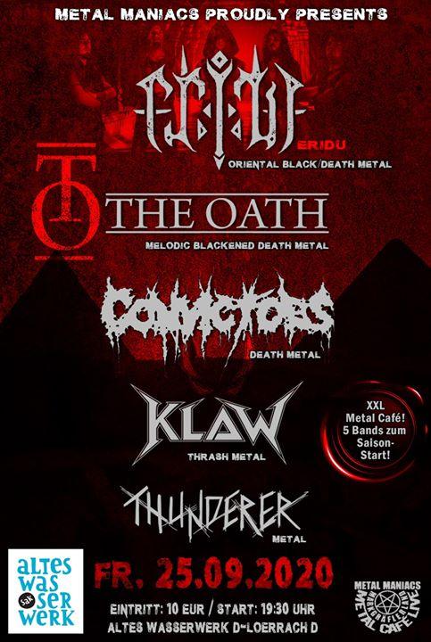 Metal Café Live 25.09.2020