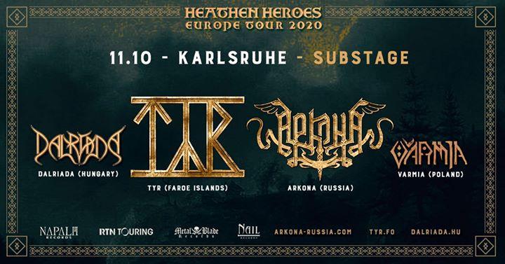 Arkona / Týr / Dalriada - Heathen Heroes tour | Karlsruhe