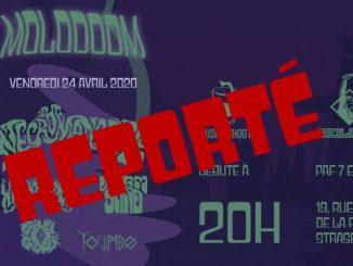 Molodoom avec The Necromancers • Witchfinder • Wormsand