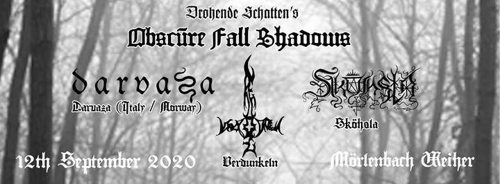 Obscure Fall Shadows/ Weiher/ LIVE MUSIC HALL