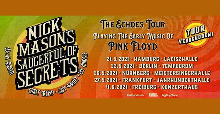 Nick Mason's Saucerful Of Secrets • Freiburg (Ersatztermin)