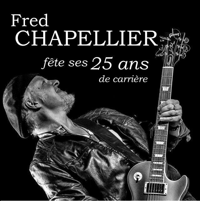 Fred Chapellier - Nouvel Album - Le Grillen Colmar