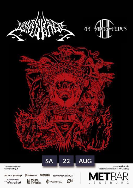 Devils Rage & As Sanity Fades LIVE