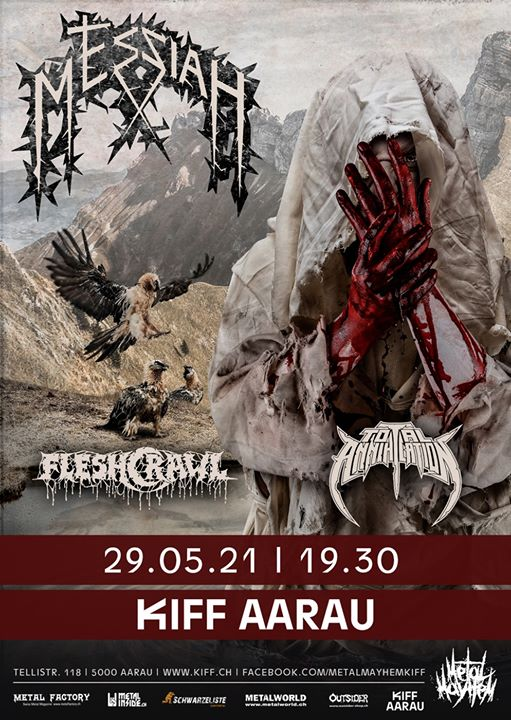Messiah / Fleshcrawl / Total Annihilation