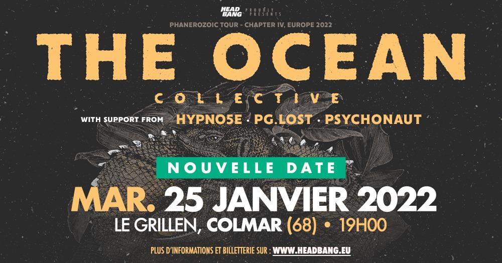The Ocean • Hypno5e • pg.lost • Psychonaut • Le Grillen • Colmar