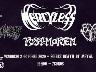 Mercyless // Post-Mortem // Warkunt // Beyond The Void - Molodoï