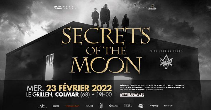 Secrets Of The Moon • Caronte • Le Grillen • Colmar