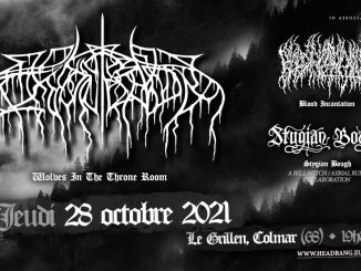 Wolves In The Throne Room • Blood Incantation • Stygian Bough • Le Grillen • Colmar