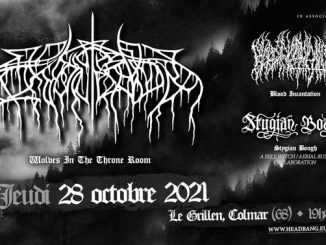 2021-10-28 Wolves In The Throne Room • Blood Incantation • Stygian Bough • Le Grillen • Colmar