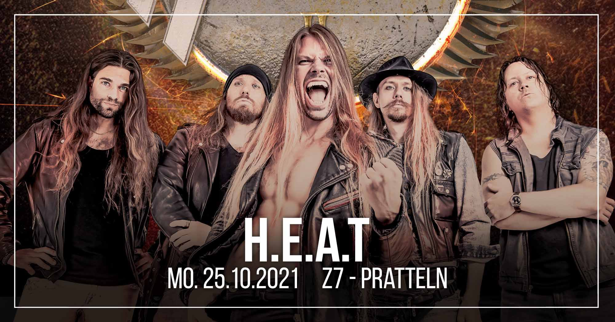 HEAT - Sign In The Northern Sky Tour 2021 l Pratteln